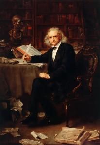 Theodor Mommsen, by Ludwig Knaus, 1881